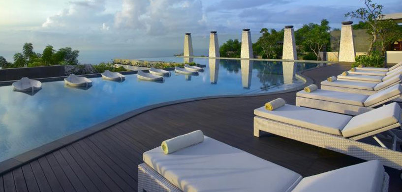 Banyan Tree Ungasan Hotel pool  The Best Hotel Pools in Bali Banyan Tree Ungasan Hotel pool