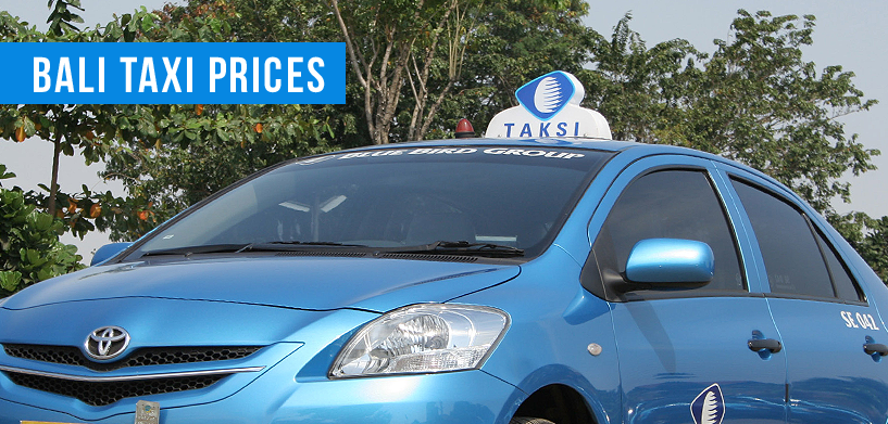 Bali Taxi Prices