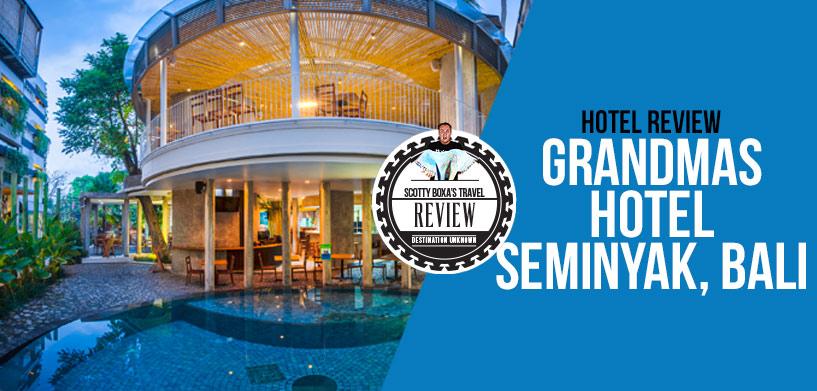 Grandmas Hotel Seminyak Review