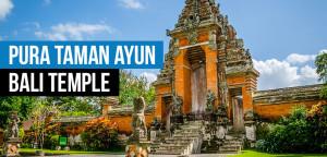 Pura Taman Ayun Temple  Bali Water Temples Tour Pura Taman Ayun Temple