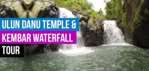 Ulun Danu Temple and Kembar Waterfall Tour  Pura Ulun Danu Bratan Temple Ulun Danu Temple and Kembar Waterfall Tour 1