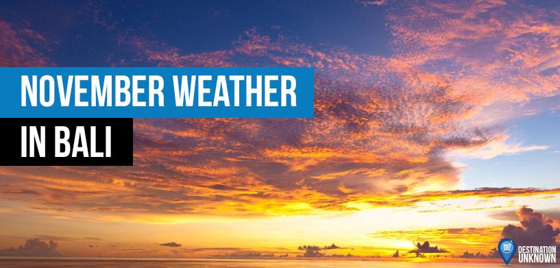November Weather in Bali