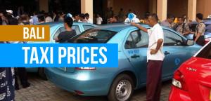 Bali Taxi Prices  Bali Sidebar Info Bali Taxi Prices
