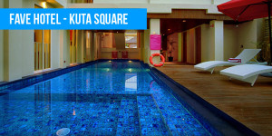 Fave Hotel – Kuta Square  Bali's Best Budget Accommodation Favehotel Kuta Square