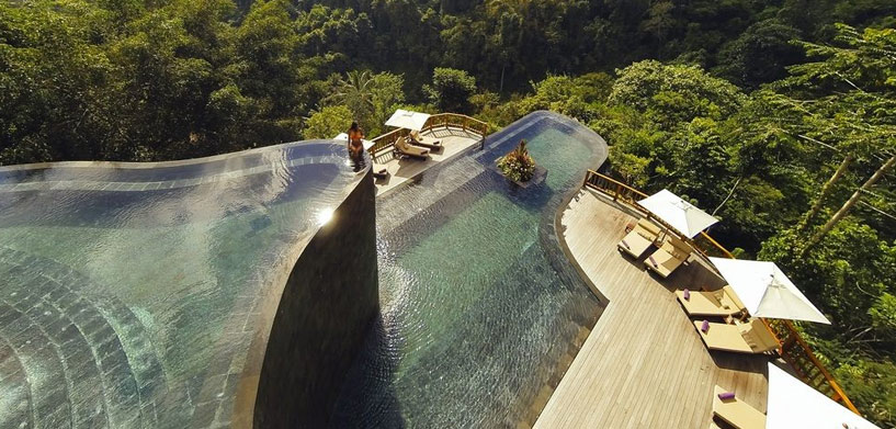 Hanging Gardens of Bali, Ubud  The Best Hotel Pools in Bali Hanging Gardens of Bali Ubud