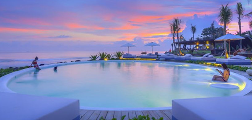 Komune Resort & Beach Club  The Best Hotel Pools in Bali Komune Resort Beach Club Pool