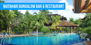Matahari Bungalow Bar & Restaurant  Bali's Best Budget Accommodation Matahari Bungalow Bar Restaurant
