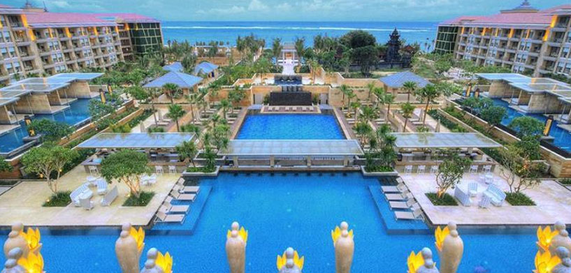 Mulia Resort Nusa Dua Pool  The Best Hotel Pools in Bali Mulia Resort Nusa Dua Pool