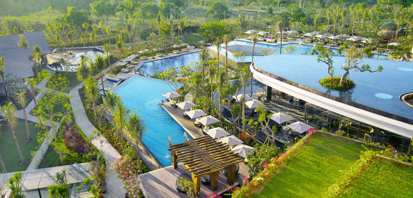 RIMBA Jimbaran Pool  The Best Hotel Pools in Bali RIMBA Jimbaran Pool