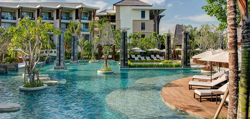 Sofitel Bali Nusa Dua Beach Resort,  The Best Hotel Pools in Bali Sofitel Bali Nusa Dua Beach Resort pool