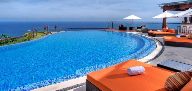 The Edge bali Villa Pool  The Best Hotel Pools in Bali The Edge bali Villa Pool