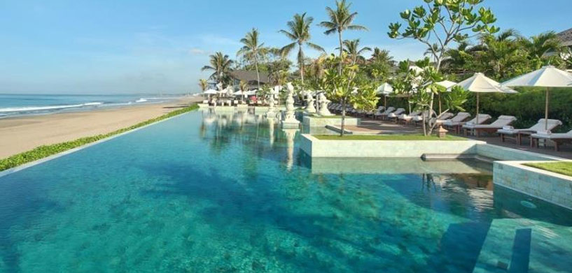 The Seminyak Beach Resort Pool  The Best Hotel Pools in Bali The Seminyak Beach Resort Pool
