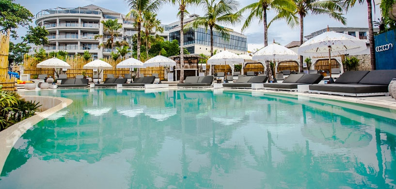 Cocoon Beach Club Pool  Best Pools in Seminyak - Bali | Best Pools in Bali cocoon beach club