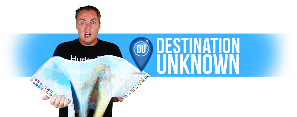Scotty Boxa's Destination Unknown  Destination Unknown me banner