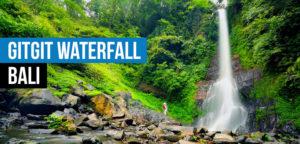 Gitgit Waterfall  Dolphin Watching, Waterfalls and Ulundanu Temple Tour in Bali Gitgit Waterfall