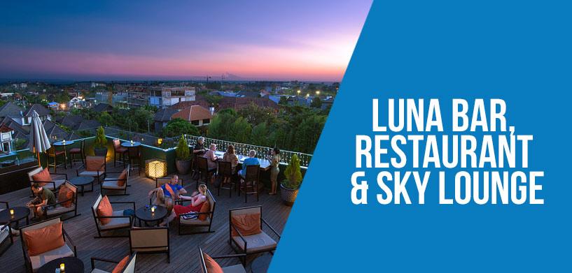 Luna Bar, Restaurant & Sky Lounge